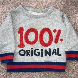 baby Gap 100% Original 18-24 month sweatshirt